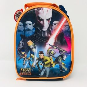 Star Wars Rebels Lunch Bag Insulated Dome Shaped